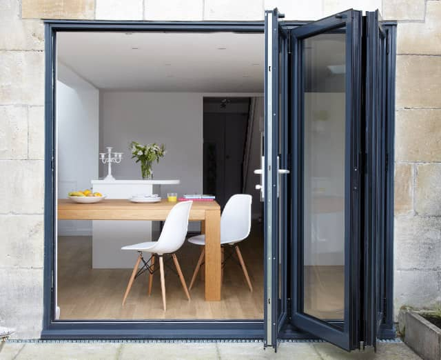 Bifold french patio doors yorkshire wold windows for Folding french patio doors